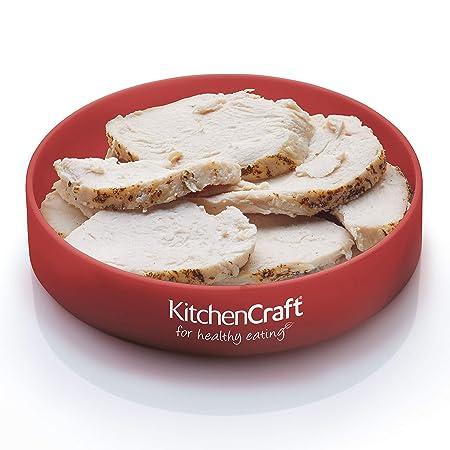 6-Einheiten Kitchen Craft Healthy Eating Farbig gekennzeichnete Ringe zur Portionskontrolle/ Mehrfarbig 11.3 x 11.3 x 2.8 cm Plastik