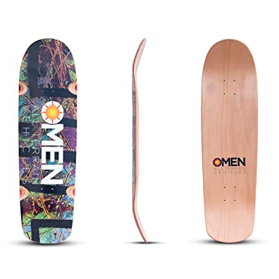 Omen Boards Shred Puppy Skateboard Deck Old School Style : Sports & Outdoors