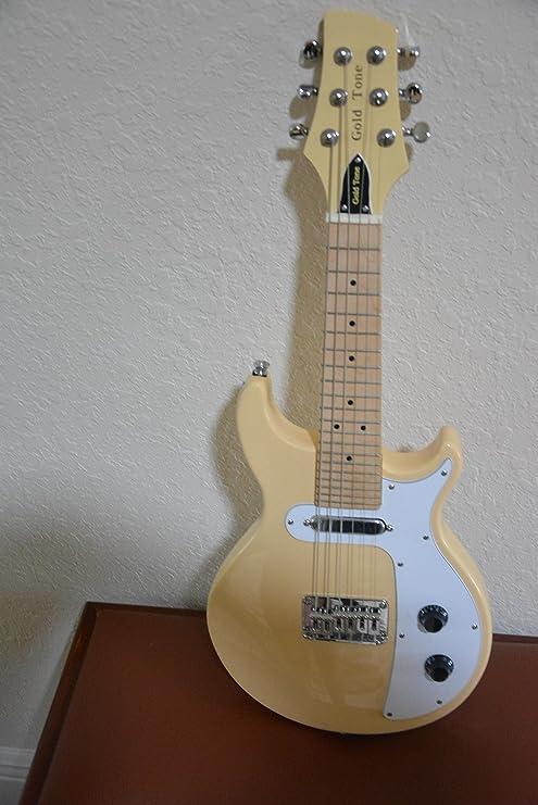 Mandolina para guitarra de 6 cuerdas de tono dorado GME-6: Amazon ...