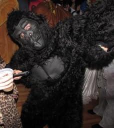 Amazon.com: California Costumes Men's Adult-Gorilla, Black, Standard
