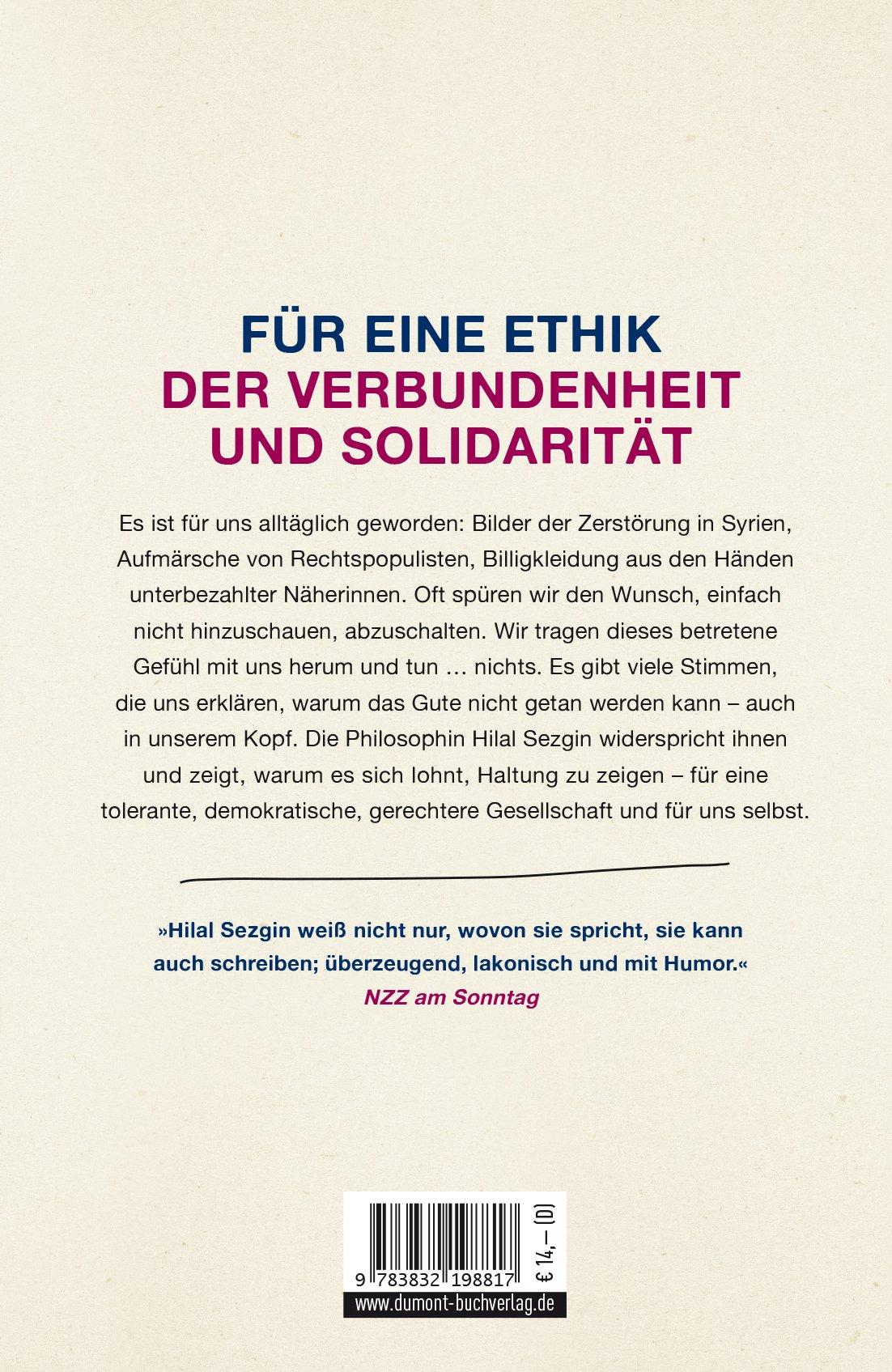 Nichtstun ist keine Lösung: Politische Verantwortung in Zeiten des  Umbruchs: Amazon.de: Hilal Sezgin: Bücher