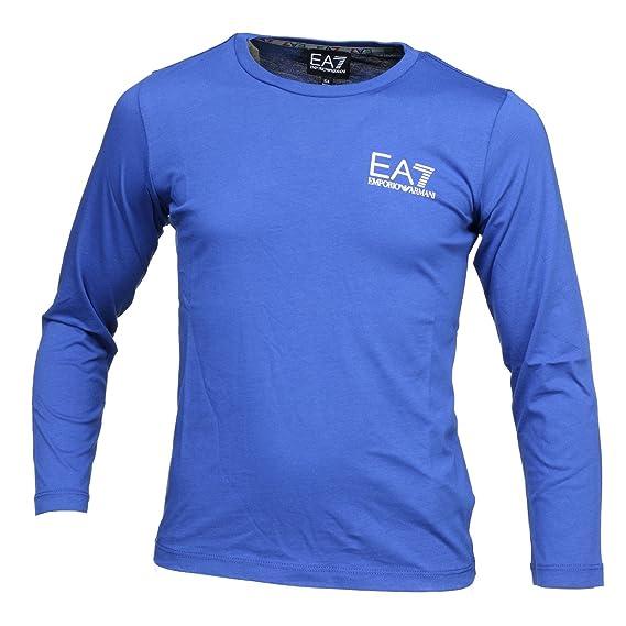 EA7 Emporio Armani T-shirt à manches longues - mazarine blue ScDqck