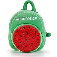 Gloveleya Fruit Series Plush Kid's Backpack Shoulder Bag School for Kids Children 12'' (Red strawberry)