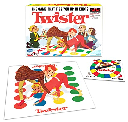 Amazon Com Winning Moves Games Classic Twister Toys Games