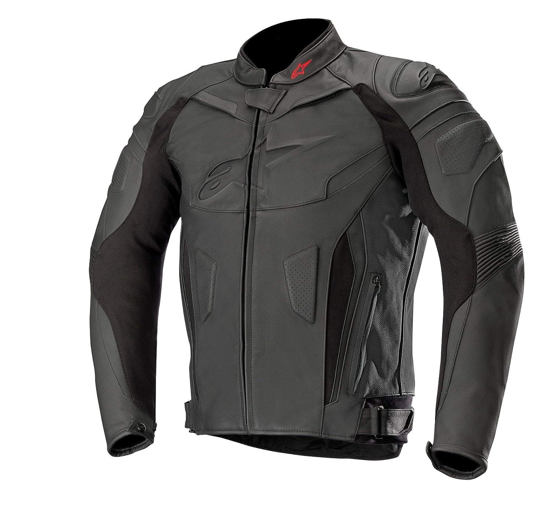 50 Alpinestars 3100517-12-50 Motorrad Jacke Schwarz//Weiss