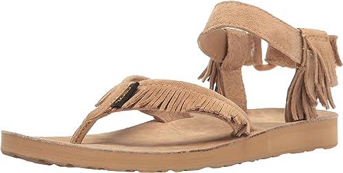 Teva Women's W Original Leather Fringe Sandal