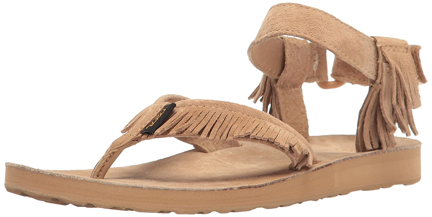 Women's W Original Leather Fringe Sandal