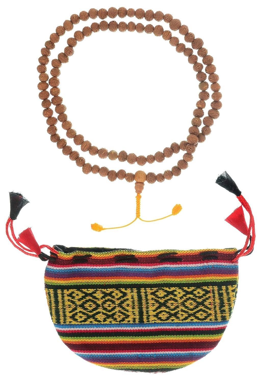 BUDDHAFIGUREN Bodhi Seeds Mala - 祈りの鎖を持つ仏教の伝統8 mm袋 B00TWZOCW6