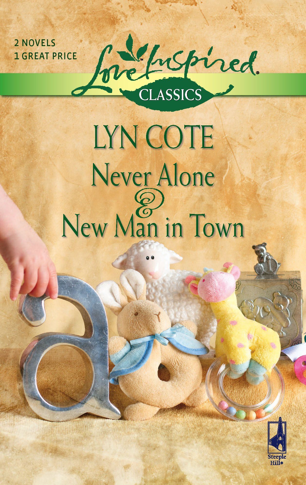 Download Never Alone/New Man in Town (Love Inspired Classics) PDF