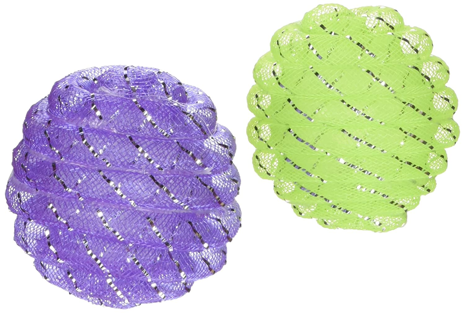 24 piece Our Pets Chase Rattle and Roll 24-Piece Bulk Bin Cat Toy