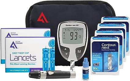 lancetas de glucosa en sangre con contorno bayer para diabetes