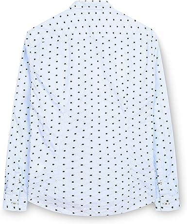 Fabio Giovanni Cornello - Camisa Multicolor multicolor collar: 38 cm o 38 cm: Amazon.es: Ropa y accesorios