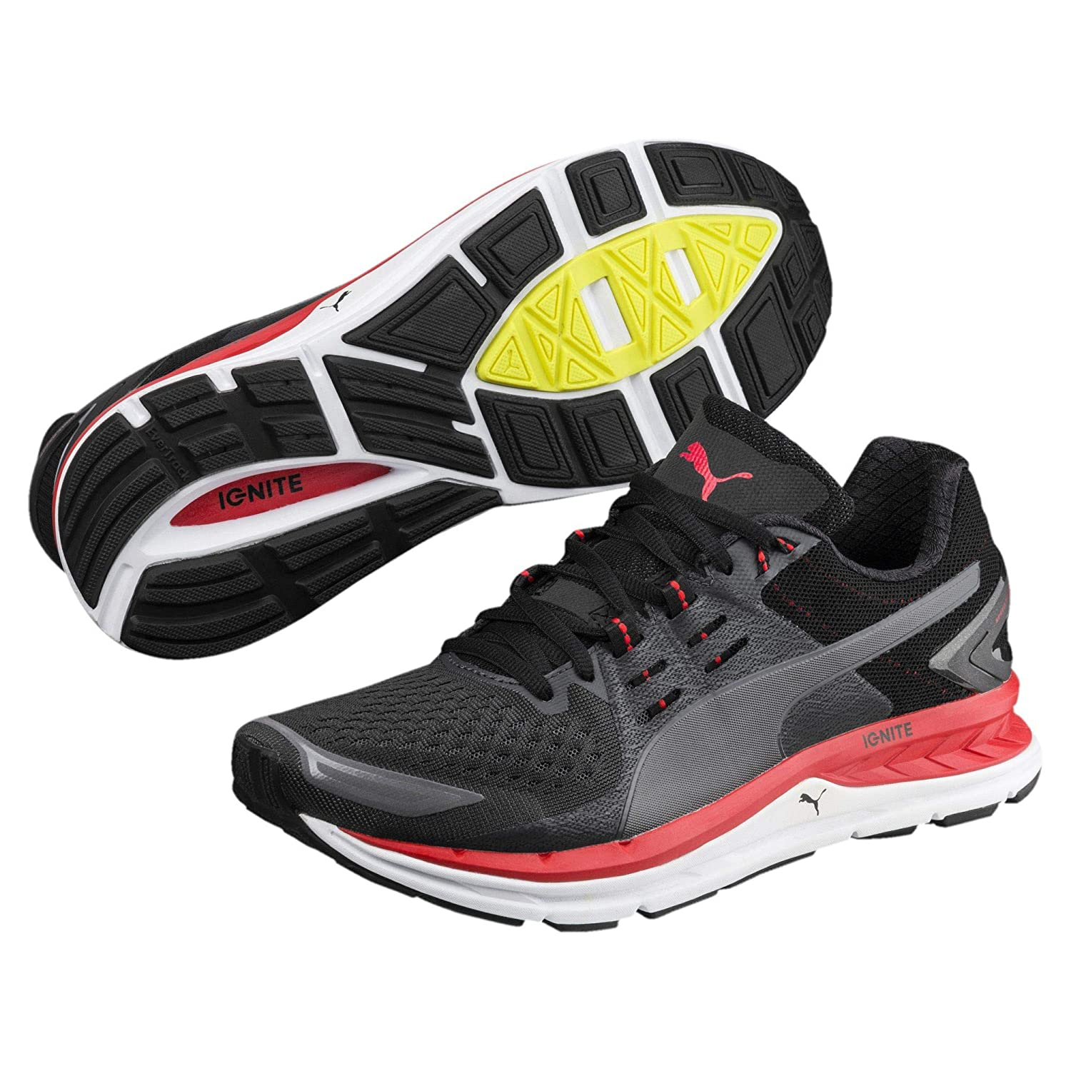 Puma Chaussure de Course Speed 1000 S Ignite Asphalt Black