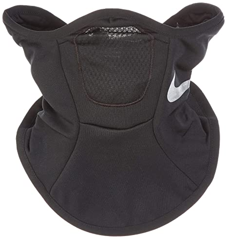 eddf3c791f Amazon.com : Nike Squad Snood (Black/Silver) : Clothing