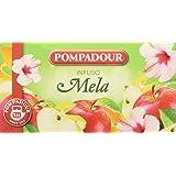 Pompadour Infusione per Bevande Calde, Mela - 20 filtri - [confezione da 3]
