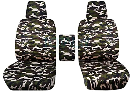 Astounding 2004 2008 Ford F 150 Camo Truck Bucket Seat Covers With Center Armrest W Wo Integrated Seat Belts Brown Camouflage 16 Prints 2005 2006 2007 Caraccident5 Cool Chair Designs And Ideas Caraccident5Info