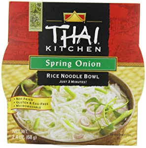 Thai Kitchen Rice Noodle Soup Bowl, Spring Onion, 2.4 Ounce (Pack of 6)