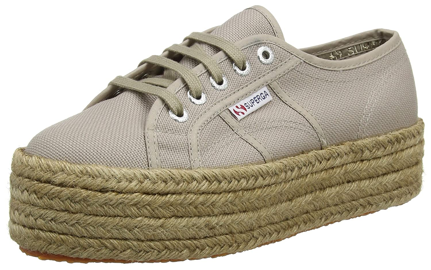 size 40 090bb cda69 Amazon.com | Superga Women's 2790-Cotropew Trainers, Brown ...