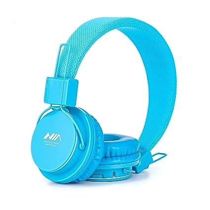 Amazon.com: GranVela A802 – Auriculares de diadema, plegable ...