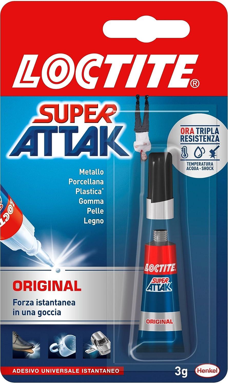 LOCTITE Super Attak Original 3g 2048080 Colle