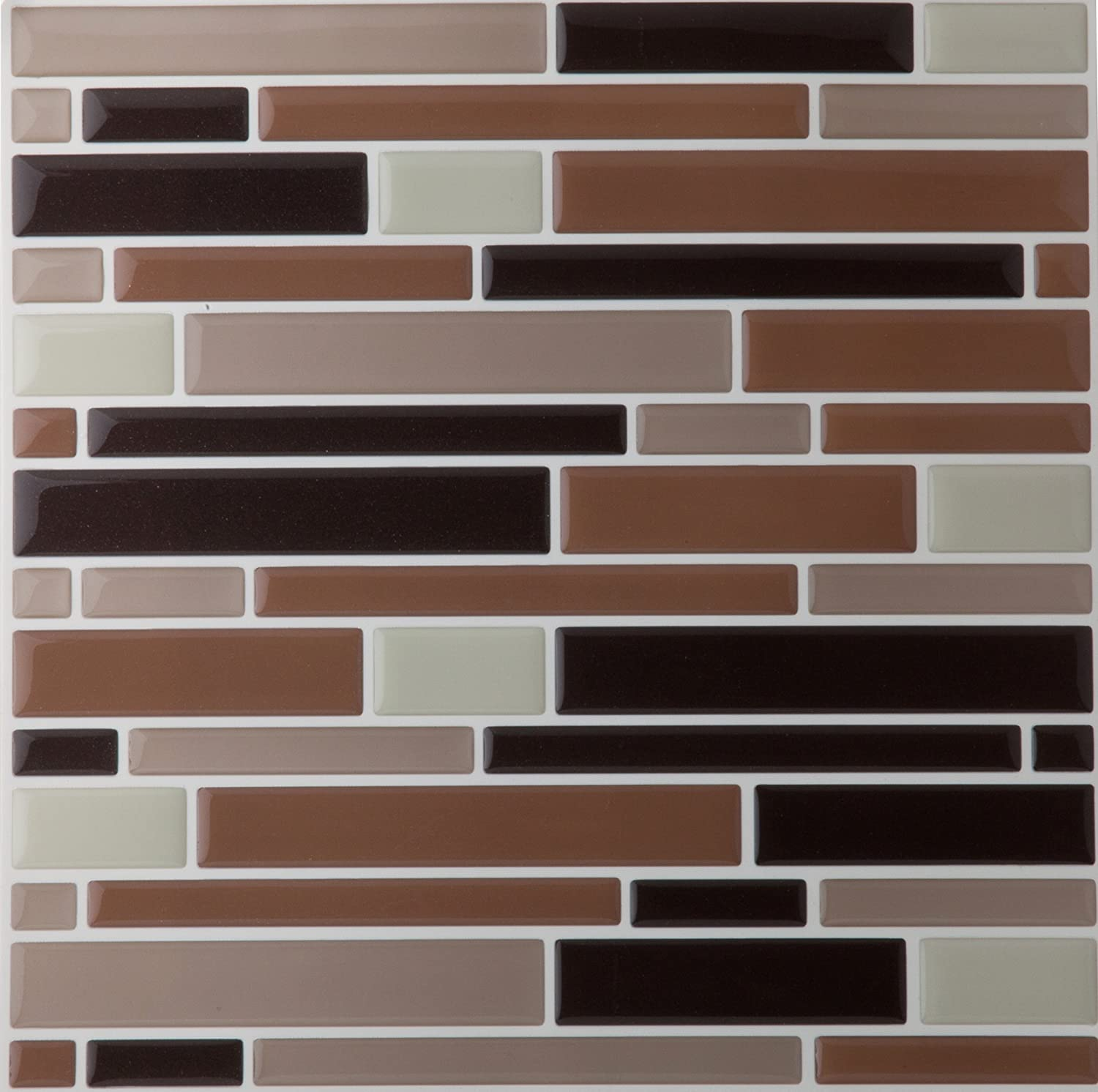 Amazon 6 pack mosaic magic gel self adhesive backsplash wall amazon 6 pack mosaic magic gel self adhesive backsplash wall tiles 9125 x 9125 coffeebeige piano home kitchen doublecrazyfo Image collections