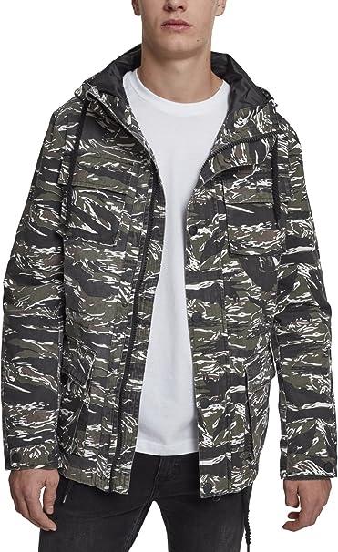 Urban Classic Tiger Camo Cotton Jacket, Chaqueta para Hombre