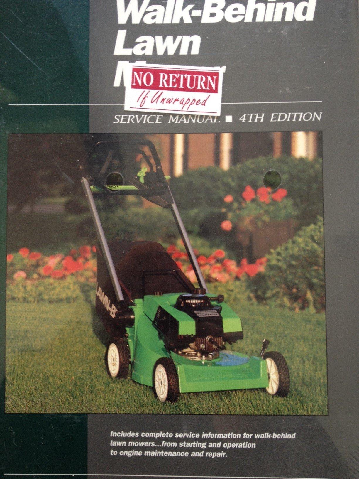 Walk-Behind Lawn Mower Service Manual: Intertec Publishing Staff:  9780872882720: Amazon.com: Books