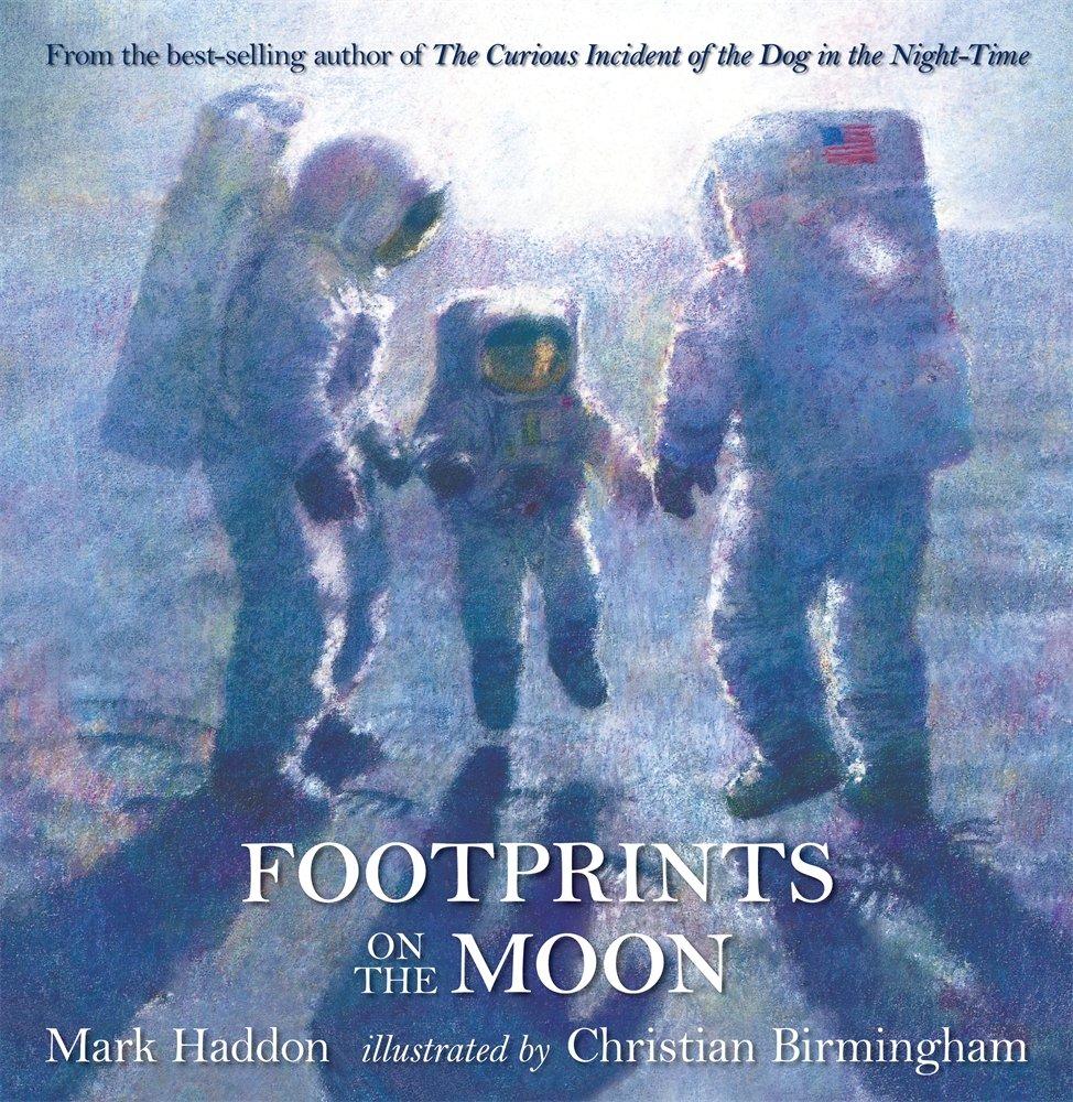 Footprints On The Moon: Mark Haddon, Christian Birmingham: 9780763644406:  Amazon: Books