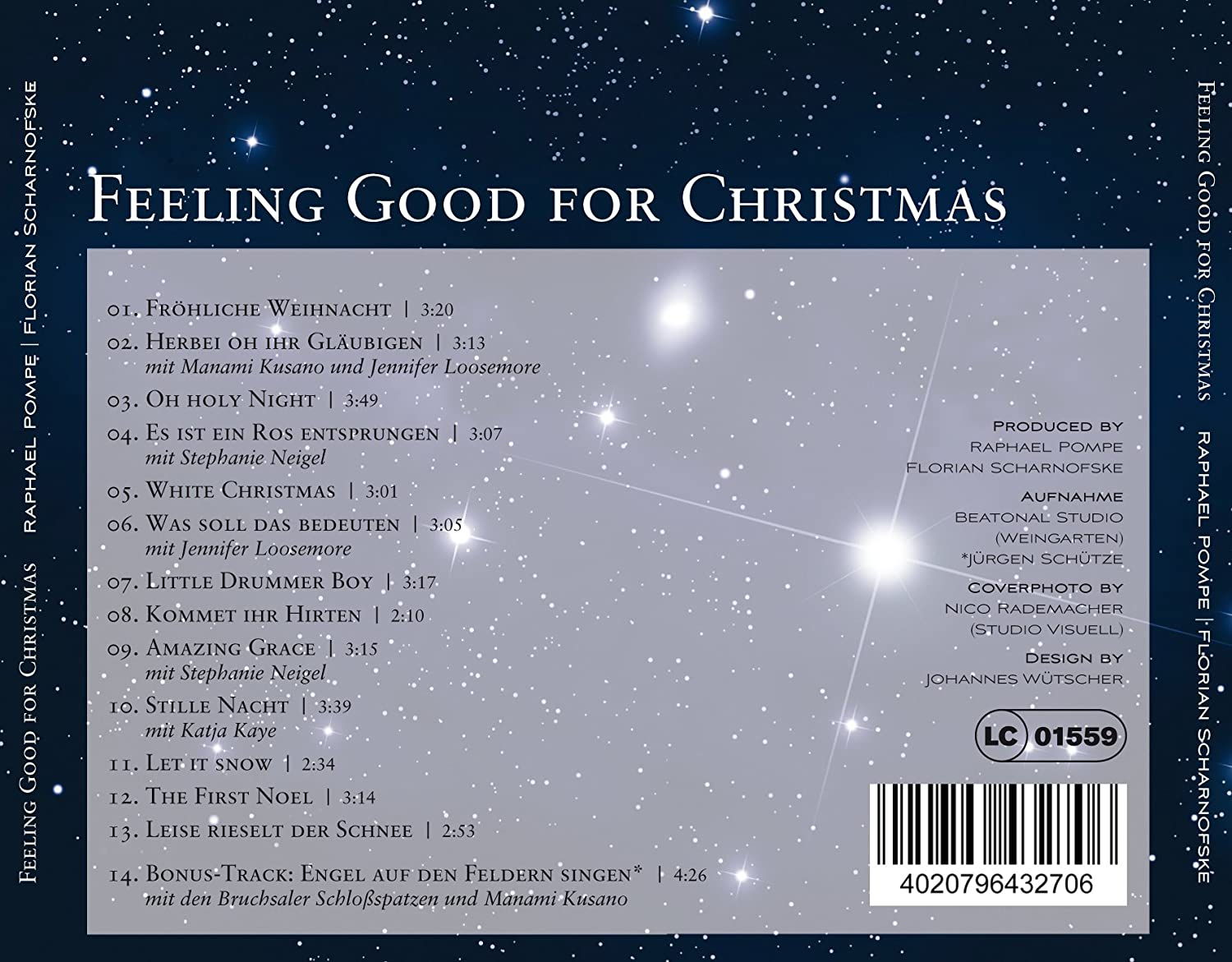 Feeling Good for Christmas - Die Weihnachts CD - Raphael Pompe ...