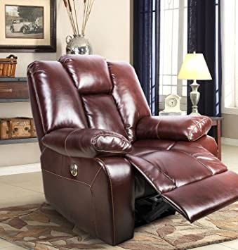 Amazon.com: FrHome Electric Luxurious Recliner Chair With USB Port ...