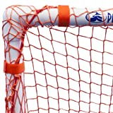 Park & Sun Sports Bungee-Slip-Net Replacement Nylon Goal Net: Soccer/Multi-Sport Goal, Orange, 6' W x 4' H x 3' D