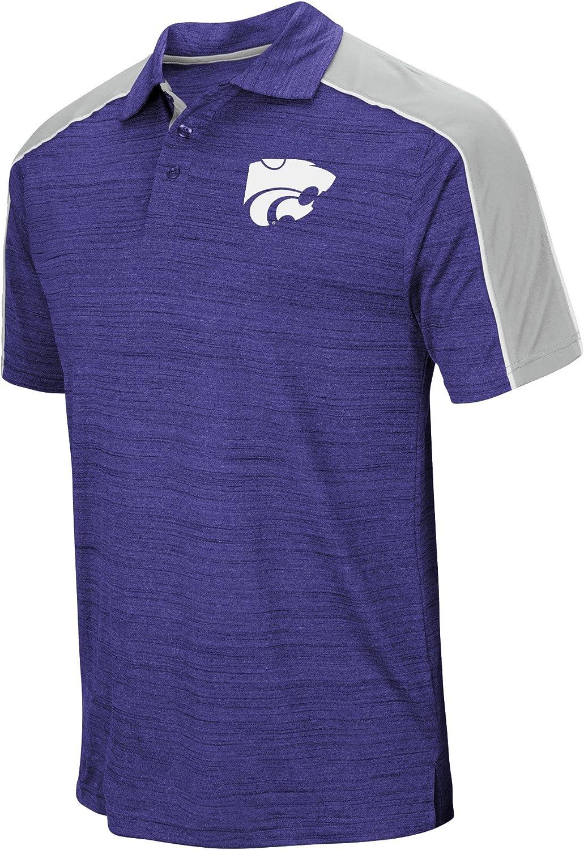Kansas State Wildcats NCAA Skipper Mens Performance Polo Shirt