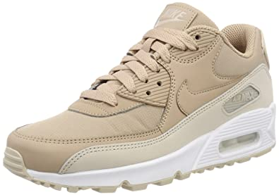 online store 3157e e0b29 Nike Air Max 90 Essential, Baskets Homme, Marron (Desert Sand-White 087