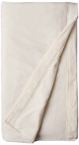 SoftHeat by Perfect Fit | Luxury Micro-Fleece Low-Voltage Electric Heated Blanket (Queen, Natural)