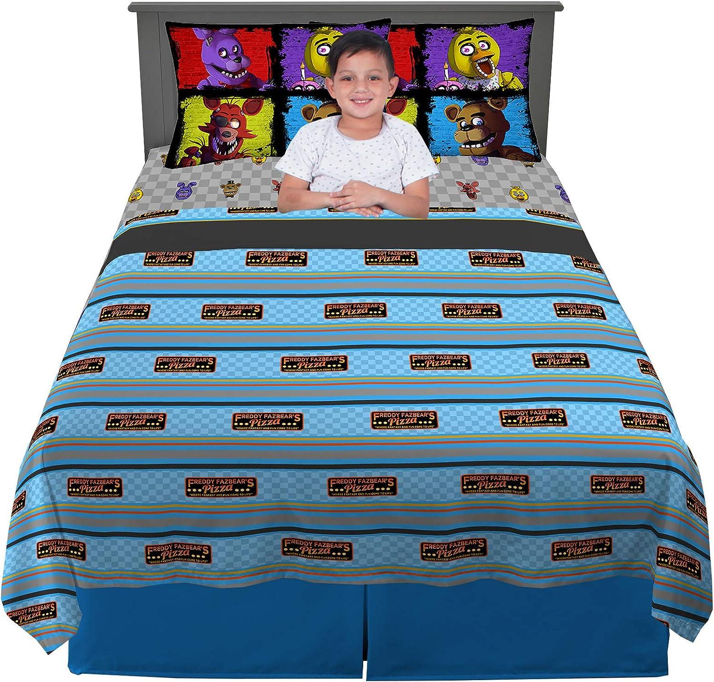 Amazon.com: Franco Kids Bedding Sheet Set, 4 Piece Full Size, Five