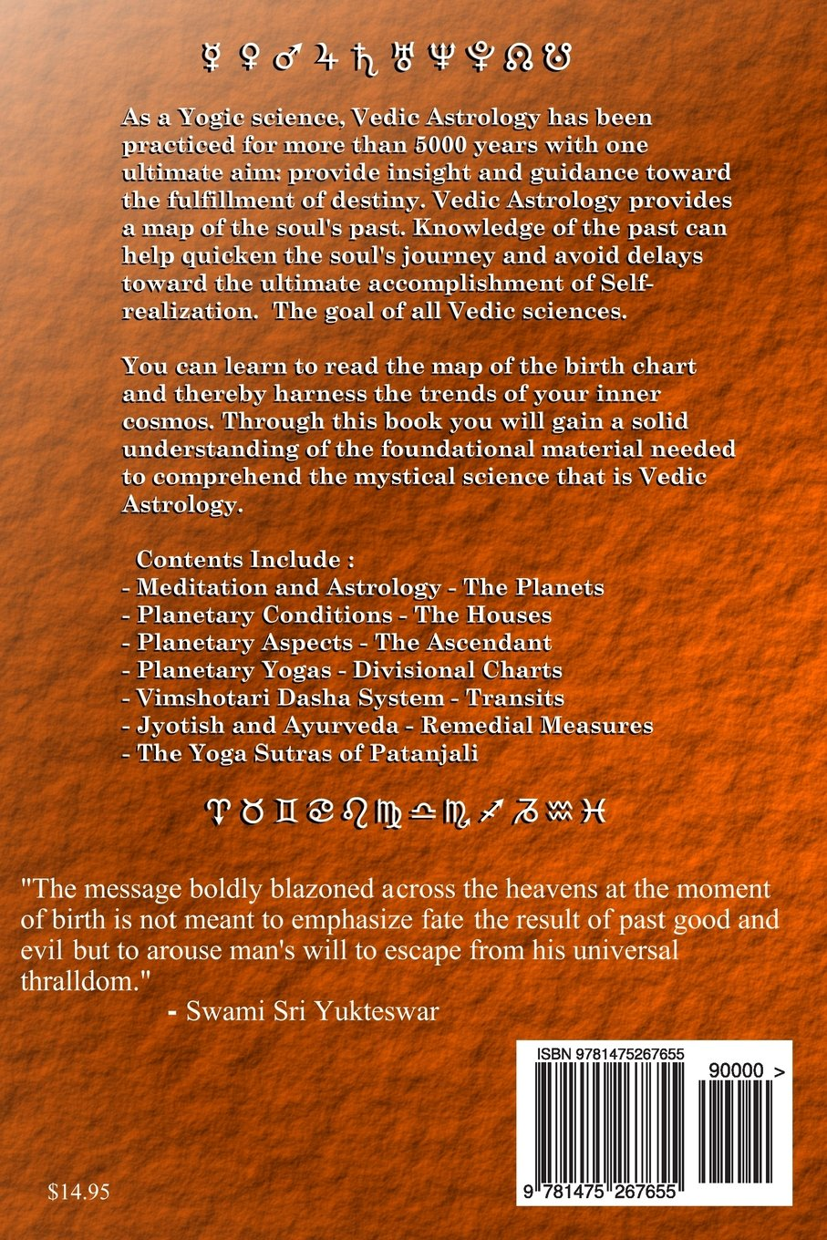 The art and science of vedic astrology the foundation course the art and science of vedic astrology the foundation course volume 1 w ryan kurczak richard fish 9781475267655 amazon books geenschuldenfo Images