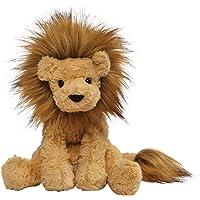 "GUND Cozys Collection Lion Plush Stuffed Animal, Tan, 8"""