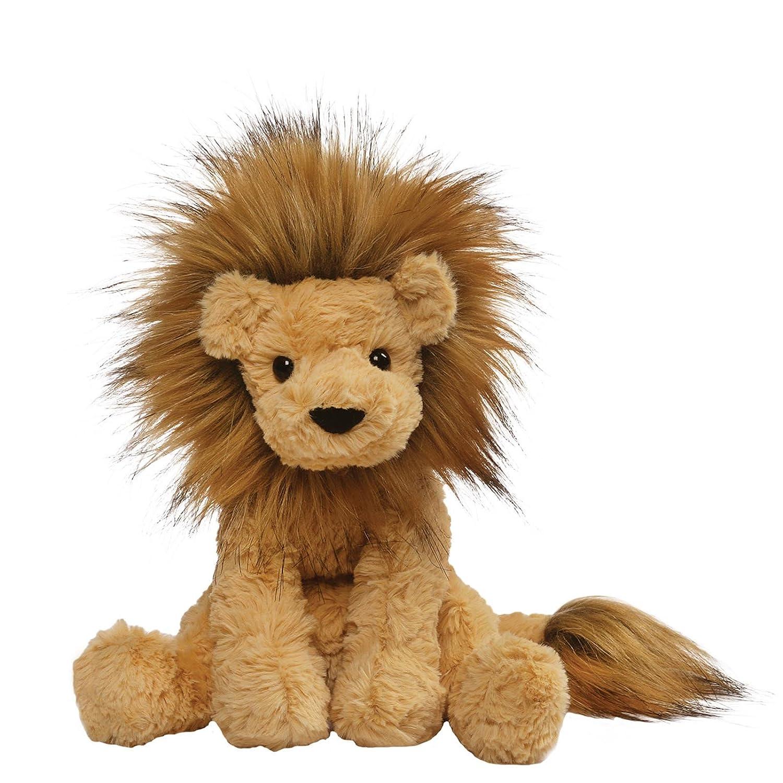 Amazon Com Gund Cozys Collection Lion Stuffed Animal Plush Tan 8