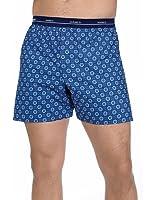 5-Pack Hanes Mens Red Label Comfort Flex Woven Boxers 832BX5