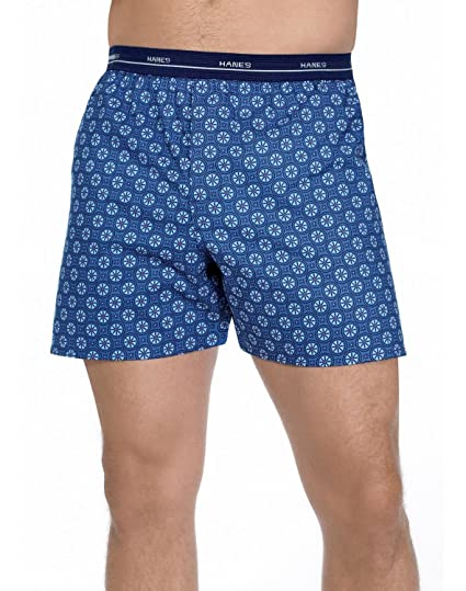 2a8f04f5e239 Hanes Mens Red Label Comfort Flex Woven Boxers (S, Assorted) at ...
