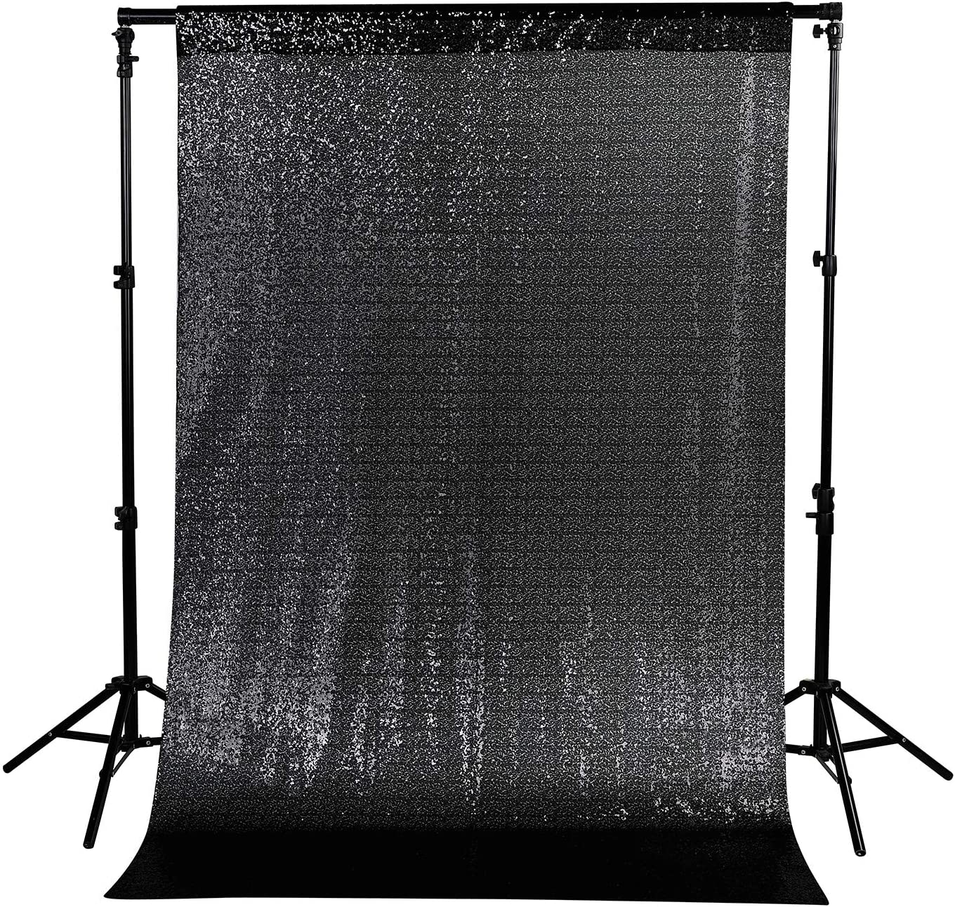 7x7 FT Sequin Backdrop Photography Background Curtain for Party Decoration