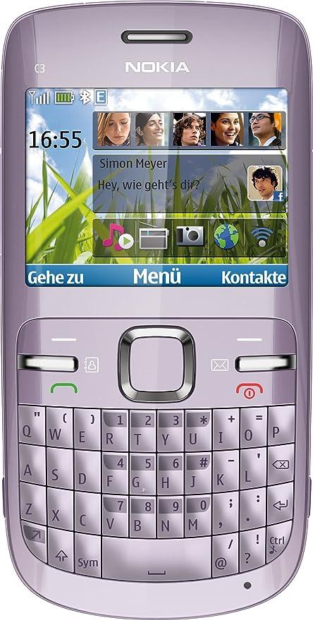 Nokia C3-00 - Móvil libre (pantalla de 2,4