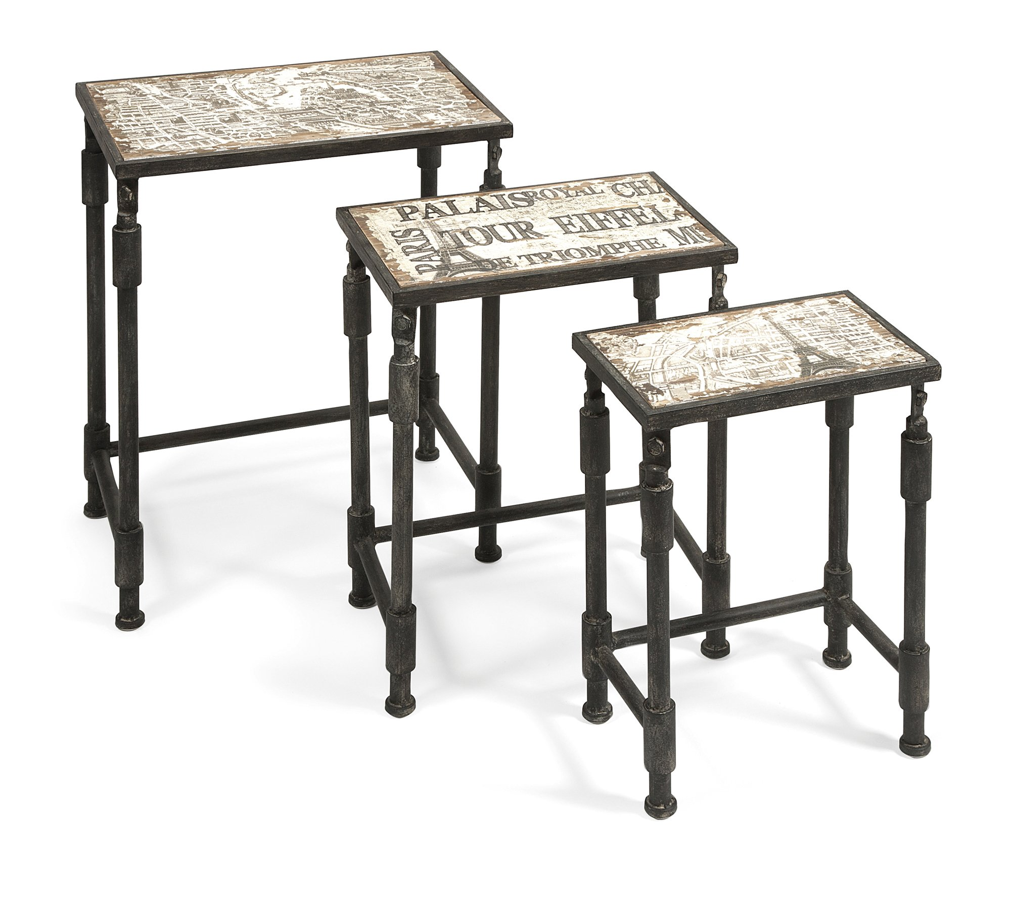 IMAX 97249-3 Knoxlin Nesting Tables, Set of 3
