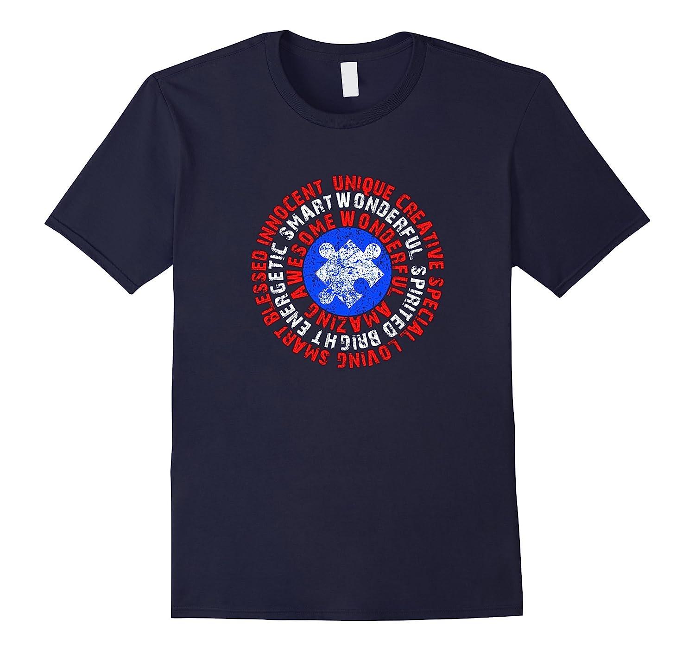 Autism Awareness Captain Autism T-Shirt-BN