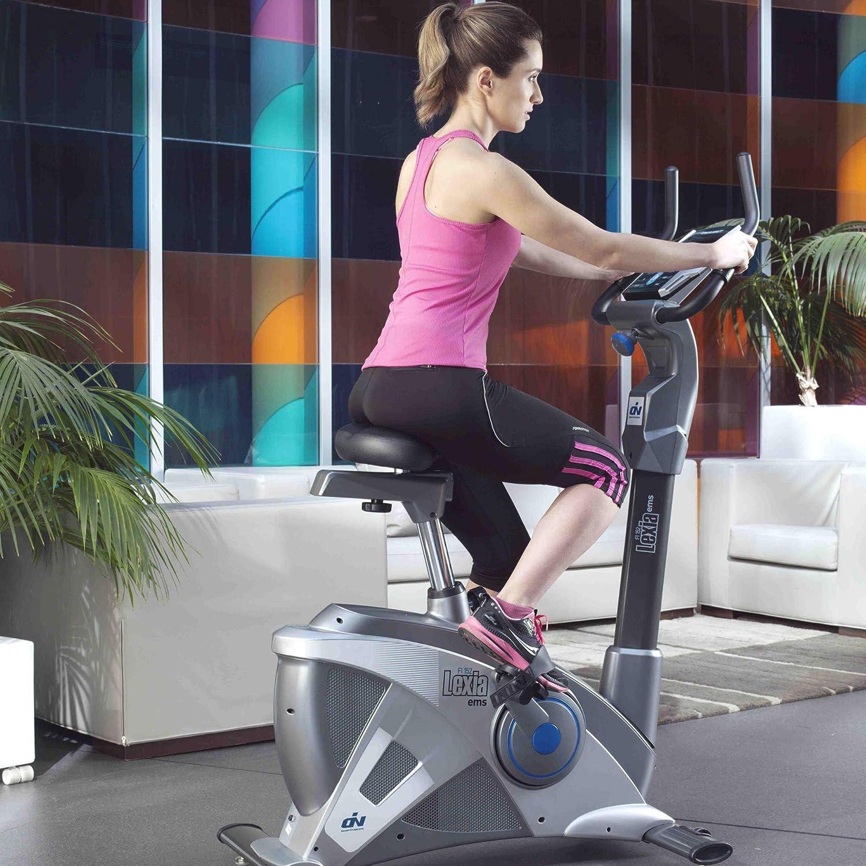 Ion Fitness Lexia EMS FI152 Bicicleta estática. Freno electromagnético (EMS). Máximas prestaciones.: Amazon.es: Deportes y aire libre