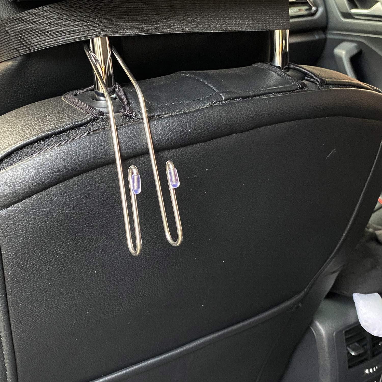 Auto Hangers Organizer. WANBAO 8 PCS Car Seat Hook