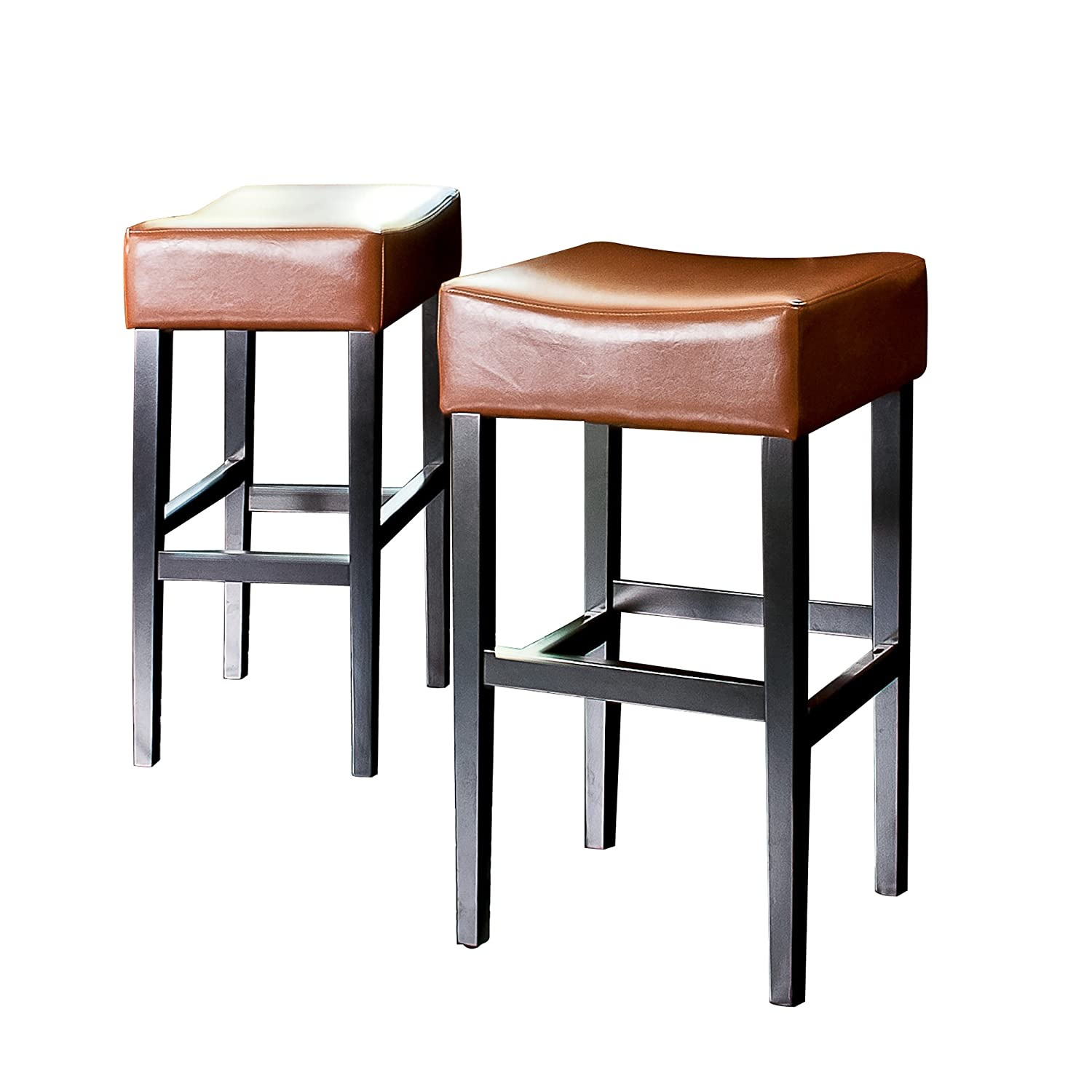 chairs contemporary red height and stools backless stool faux chrome counter bar cheap leather