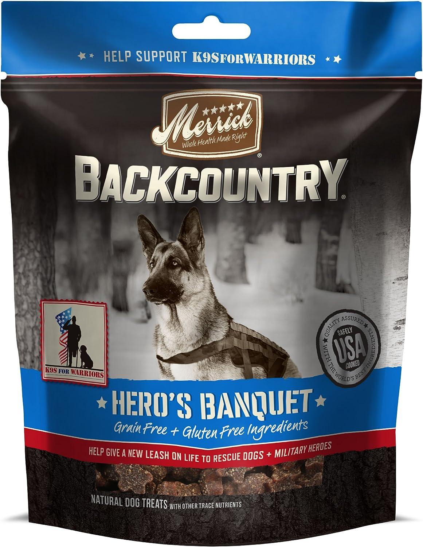 Merrick Backcountry Grain Free Hero's Banquet Dog Treats
