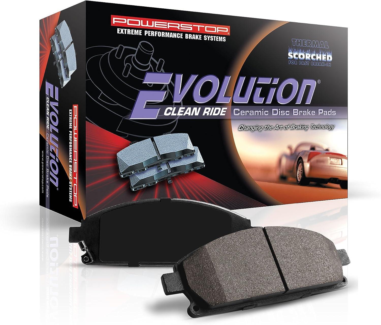 Power Stop 16-1806 Z16 Evolution Rear Ceramic Brake Pads