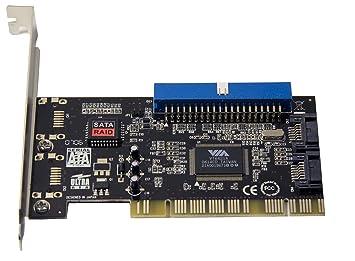 SYBA Combo - Tarjeta PCI IDE (1)/eSATA (1)/SATA (2) Tarjeta ...